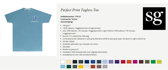 Picture of T-shirt Perfect Print Tagless Tee SG